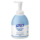 PURELL Healthcare CRT HEALTHY SOAP High Performance Foam, 535mL Counter Top Pump Bottle. MFID: 5775-04