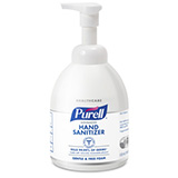 PURELL Advanced Hand Sanitizer Green Certified Foam, 535mL Table Top Pump Bottle. MFID: 5791-04