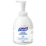 PURELL Advanced Hand Sanitizer Luxurious Foam, 535mL Table Top Pump Bottle. MFID: 5792-04