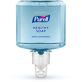 PURELL Foodservice HEALTHY SOAP 0.5% BAK Antimicrobial Foam, 1200mL Refill for PURELL ES6 Soap Dispensers. MFID: 6480-02