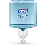 PURELL Healthcare HEALTHY SOAP Gentle & Free Foam, 1200mL Refill for PURELL ES8 Touch-Free Soap Dispensers. MFID: 7772-02