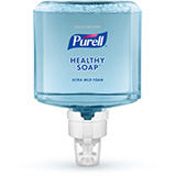 PURELL Healthcare HEALTHY SOAP Ultra Mild Foam, 1200mL Refill for PURELL ES8 Touch-Free Soap Dispensers. MFID: 7775-02