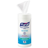 PURELL Hand Sanitizing Wipes Alcohol Formula, 80/Canister. MFID: 9030-12