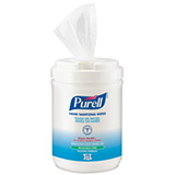 PURELL Hand Sanitizing Wipes Alcohol Formula, 175/Canister. MFID: 9031-06
