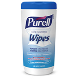 PURELL Hand Sanitizing Wipes Clean Refreshing Scent, 40CT Hand Wipes Canister. MFID: 9120-06-CMR
