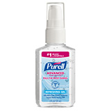 PURELL Advanced Hand Sanitizer Refreshing Gel, 2 fl oz Portable Pump Bottle. MFID: 9606-24