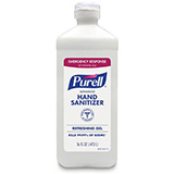 PURELL Emergency Response Advanced Hand Sanitizer Gel, Flip Top. MIFD: 9636-12-S