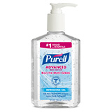 PURELL Advanced Hand Sanitizer Refreshing Gel, 8 fl oz Pump Bottle. MFID: 9652-12