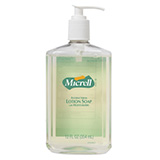 MICRELL Antibacterial Lotion Soap, 12 fl oz Pump Bottle. MFID: 9759-12