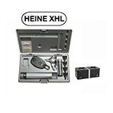 HEINE XHL Diagnostic Set: BETA 200 FO Otoscope, BETA 200 Ophthalmoscope, BETA 4 NT Rechargeable Handle, NT 4 Table Charger. MFID: A-132.23.420