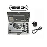 HEINE XHL Diagnostic Set: BETA 200 FO Otoscope, BETA 200 Ophthalmoscope, BETA 4 USB Rechargeable Handle, USB Cord & Plug-In Power Supply. MFID: A-132.27.388