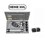 HEINE XHL Diagnostic Set: BETA 400 FO Otoscope, BETA 200 Ophthalmoscope, BETA 4 NT Rechargeable Handle, NT 4 Table Charger. MFID: A-153.23.420
