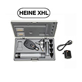 HEINE XHL Diagnostic Set: BETA 400 FO Otoscope, BETA 200 Ophthalmoscope, BETA 4 USB Rechargeable Handle, USB Cord & Plug-In Power Supply. MFID: A-153.27.388
