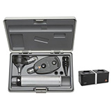 HEINE XHL Diagnostic Set: K180 Ophthalmoscope, K180 FO Otoscope, BETA 4 NT Rechargeable Handle, NT 4 Table Charger. MFID: A-279.23.420