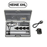 HEINE BETA 200 XHL Fiber Optic Otoscope Set, BETA 4 USB Rechargeable Handle, USB Cord & Plug-In Power Supply, Hard Case. MFID: B-141.27.388