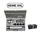 HEINE BETA 400 XHL Fiber Optic Otoscope Set, BETA 4 NT Rechargeable handle, NT 4 Table Charger, Hard Case. MFID: B-143.23.420