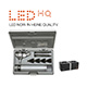 HEINE BETA 400 LED Fiber Optic Otoscope Set, BETA 4 NT Rechargeable handle, NT 4 Table Charger, Hard Case. MFID: B-143.24.420