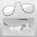 HEINE RX Corrective Lens Frame for S-FRAME (used with HR, HRP, and HR-C Binocular Loupes). MFID: C-000.32.309