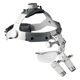 "HEINE 3.5x HRP Binocular Loupes Set on Headband/Splash Guard, 420mm (16"") Working Distance. MFID: C-000.32.440"