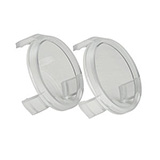 HEINE Protective Lenses for HR loupes - 1 Pair. C-000.32.537.1
