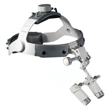 "HEINE 4.0x HRP Binocular Loupes Set on Headband, 340mm (13"") Working Distance. MFID: C-000.32.841"