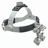 "HEINE 2.5x HR Binocular Loupes Set on Headband, 420mm (16"") Working Distance. MFID: C-000.32.866"