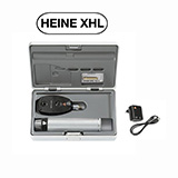 HEINE BETA 200 XHL Ophthalmoscope Set, BETA 4 USB Rechargeable Handle, USB Cord & Plug-In Power Supply. MFID: C-144.27.388