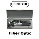 HEINE mini 3000 XHL Otoscope Set: mini 3000 XHL FO Otoscope, Battery Handle, Hard Case. MFID: D-851.10.021
