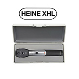 HEINE mini 3000 XHL Ophthalmoscope Set with mini 3000 Battery Handle & Hard Case. MFID: D-852.10.021
