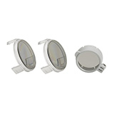 HEINE Polarization filter P2 for ML4 LED Headlight and HR Loupes. MFID: J-000.31.326