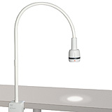 HEINE EL3 LED Examination Light with Clamp for Table-Top Mounting. MFID: J-008.27.013
