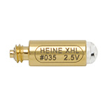 HEINE XHL Bulb for: Illuminated head for Spreadable Anal Speculum, FO Laryngoscope handle- 2.5V. MFID: X-001.88.035