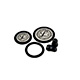 Littmann Spare Parts Kit for Classic III Stethoscope: Small Snap Tight Soft-Sealing Eartips, Adult Diaphragm, Pediatric Diaphragm, Black, each. MFID: 40016E