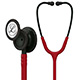 3M Littmann Classic III Stethoscope, Black Chestpiece, Stem & Headset, Burgundy Tube. MFID: 5868