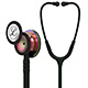 3M Littmann Classic III Stethoscope, Rainbow Chestpiece, Black Stem & Headset, Black Tube. MFID: 5870
