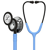 3M Littmann Classic III Stethoscope, Mirror Chestpiece, Ceil Blue Tube, Smoke Stem and Smoke Headset. MFID: 5959