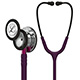 3M Littmann Classic III Stethoscope, Mirror Chestpiece, Plum Tube, Pink Stem and Smoke Headset. MFID: 5960