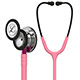 3M Littmann Classic III Stethoscope, Mirror Chestpiece, Pearl Pink Tube, Pink Stem and Smoke Headset. MFID: 5962