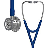 3M Littmann Cardiology IV Stethoscope, Standard Chestpiece, Navy Blue Tube, Stainless Stem & Headset. MFID: 6154