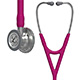 3M Littmann Cardiology IV Stethoscope, Standard Chestpiece, Raspberry Tube, Stainless Stem & Headset. MFID: 6158