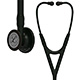 3M Littmann Cardiology IV Stethoscope, Black Chestpiece, Black Tube, Stem & Headset. MFID: 6163