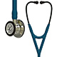 3M Littmann Cardiology IV Stethoscope, Champagne Chestpiece and Stem, Caribbean Blue Tube. MFID: 6190
