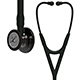 3M Littmann Cardiology IV Stethoscope, High Polish Smoke Chestpiece, Black Tube, Black Stem, Black Headset. MFID: 6232