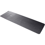 "Airex Yoga/Pilates 190 Exercise Mat- Black 75""x23""x0.3"" (8mm). MFID: 23523"