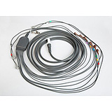 "Patient Cable for Quinton Q-Stress or Burdick HeartStride, AHA 43"", snap connection. MFID: 60-00185-01"