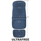 MIDMARK UltraFree Upholstery Top for 646/647 Podiatry Chairs. MFID: 002-10129