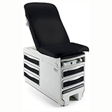 RITTER 204 Manual Examination Table, Pass Thru Drawers, Receptacle, Pelvic Tilt /Heater (BASE ONLY). MFID: 204-012