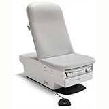 RITTER 224 High-Low Power Height Exam Table with Drawer, Pelvic Tilt, Heater, Receptacles, RLRS- BASE ONLY. MFID: 224-003