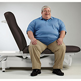 RITTER 244-001 Bariatric Treatment Table (BASE ONLY). MFID: 244-001
