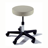 RITTER 270 Manual Screw Adjustable Physician Stool. MFID: 270-001